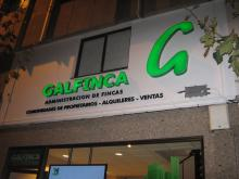 Rótulo - Galfinca